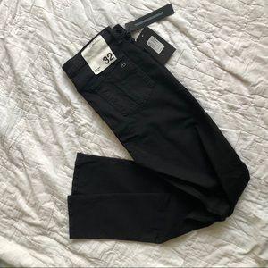 NWT Rag and Bone high waist skinny black jeans 32